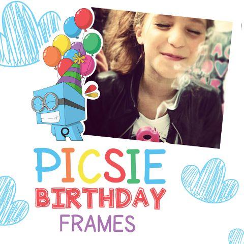 picsie birthday frames