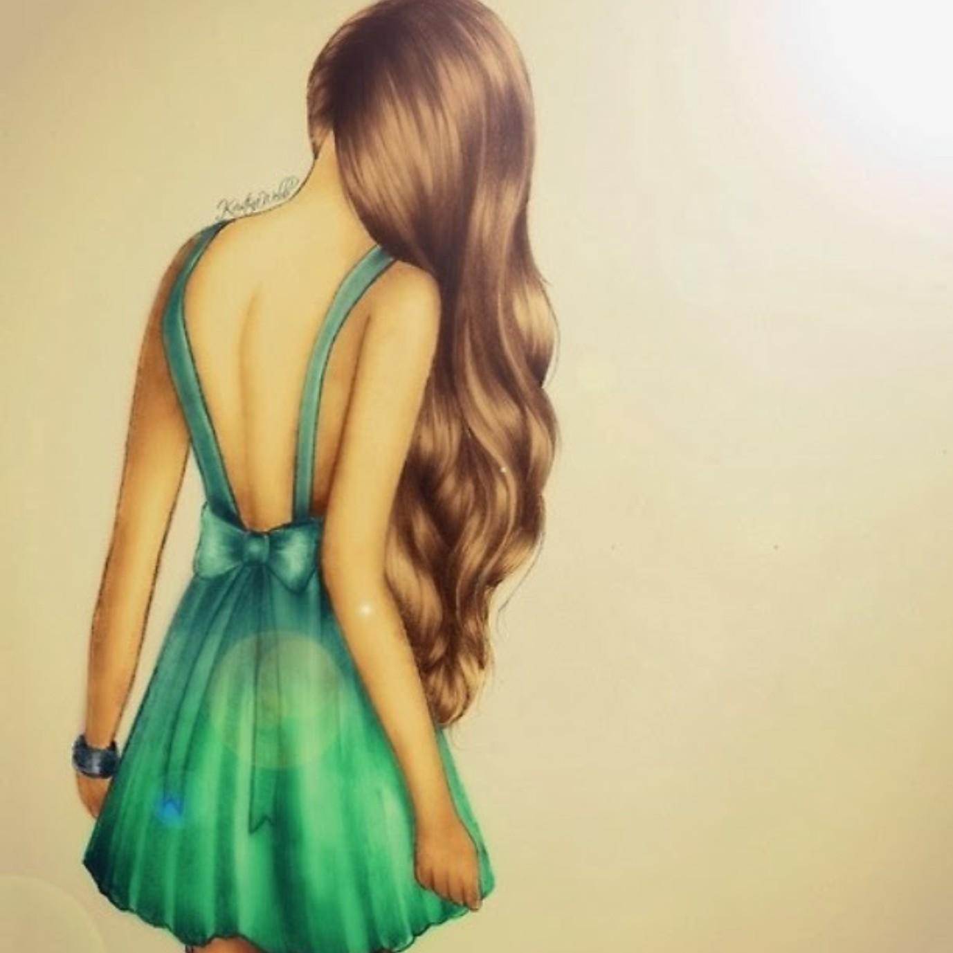 Фото девушек в платье русые 4 фотография
