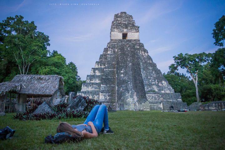 tikal guatemala ruins mayaruins ancient