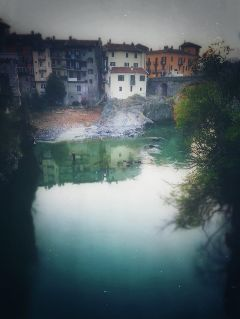 architecture photography italy river