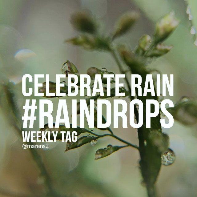 hashtag raindrops