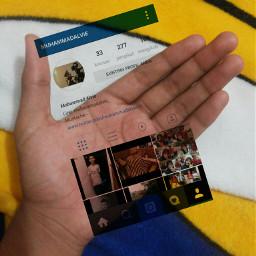 instagraminhand