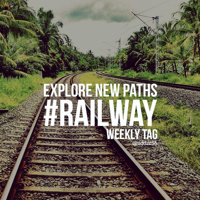 This week, we want you to capture the beauty of train travel and share your shots with the Weekly Tag #railway.