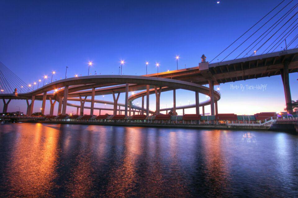 สะพานภูมิพล Bhumibol Bridge Thailand จอมสร้างภาพ