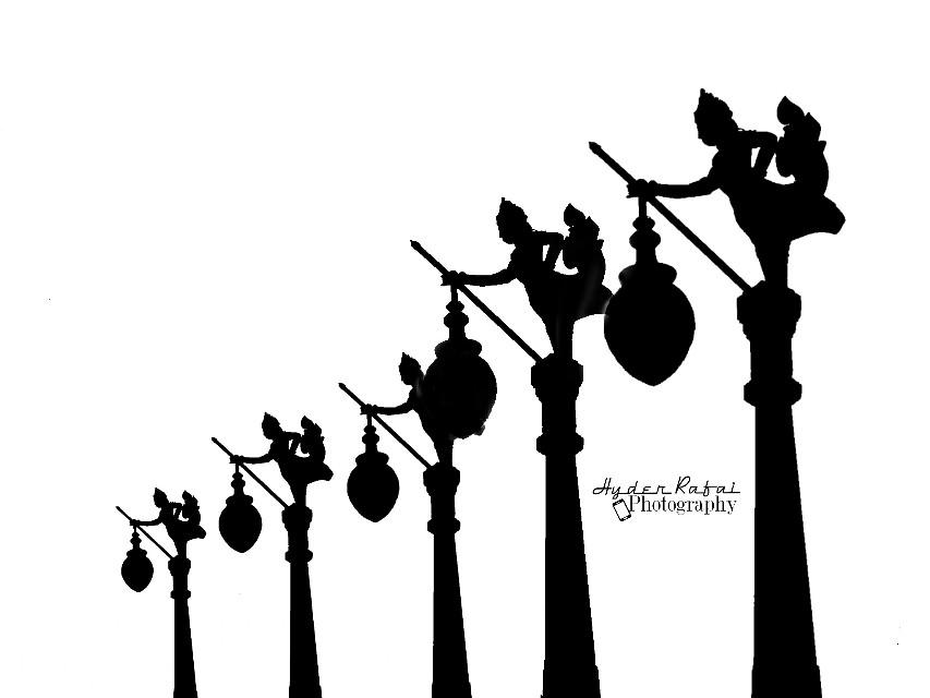 #statue #blackandwhite #photography  #lamp