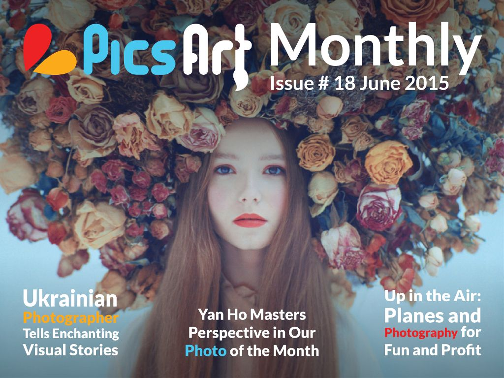 PicsArt Monthly Magazine June Issue 2015