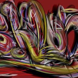 sklon sketch finger style drawing