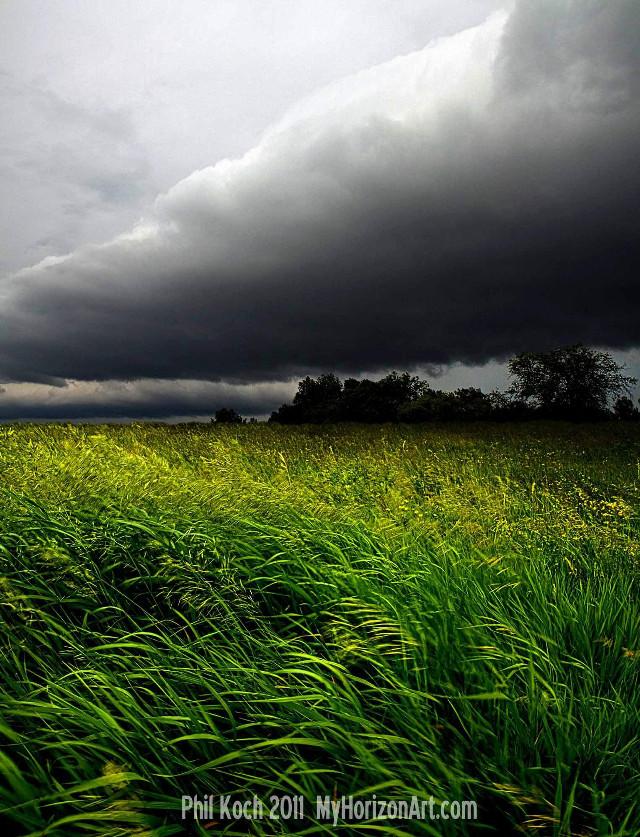 Horizons by Phil Koch  #storm  #weather  #rain