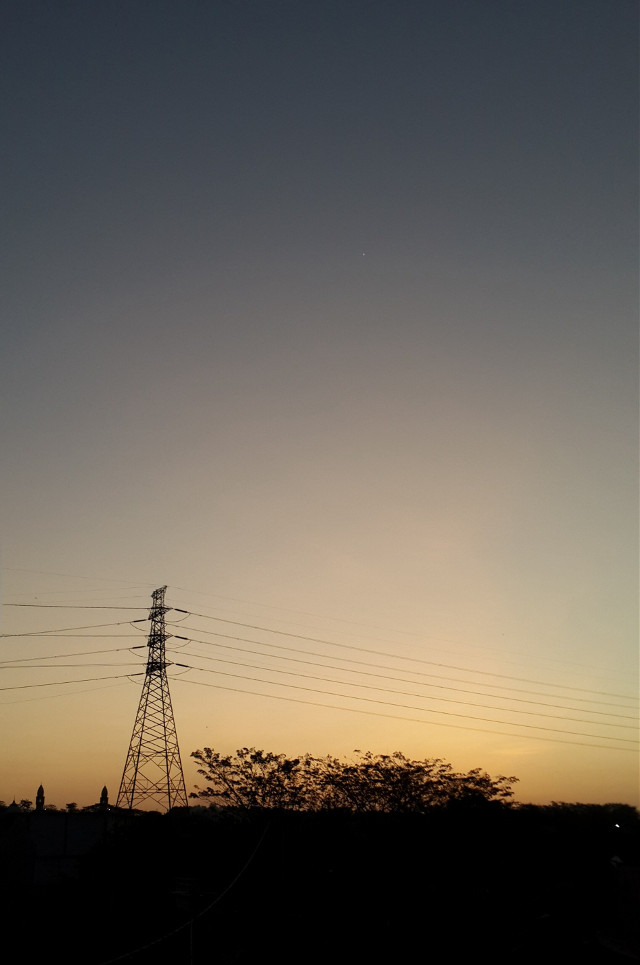 Took this photo when the evening call to prayer rang out from the Mosque today. And post this picture while listening to the sound of echoing Takbir..  With utter sincerity, Happy Eid Mubarak 1436H to all friends who celebrate..  #eidmubarak #celebration #love #friendship #sunset #nature