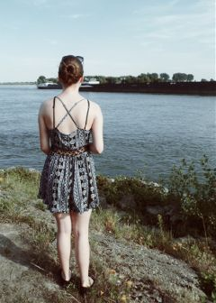 summer rhine emotions nature