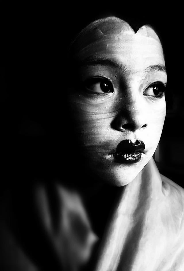 #stark #portrait #dark #blackandwhite