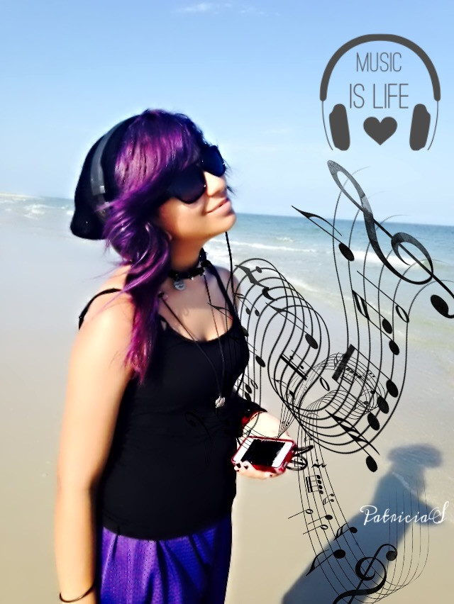 #dailyinspiration  #clipart  #music  #love  #interesting  #photography  #portrait #musiclover   #happy  #summerstory  #beachlife  #purple  #purplehair  #expression #carefree #words