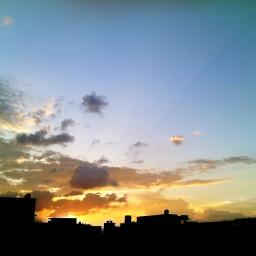 sky bright sunrise nature photography