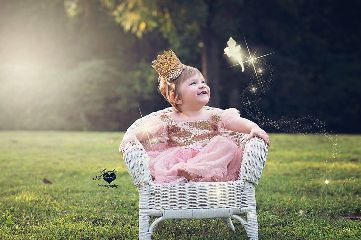 fantasy birthday baby photography popart