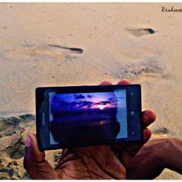 photography sunset beach mobile nokialumia