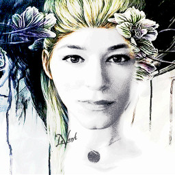 beautifypicsart artisticselfie myedit drawing picsarttools vignette vibranteffect flowers photography