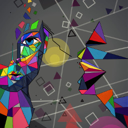 dcabstractshapes wdpgeometric popart people emotions