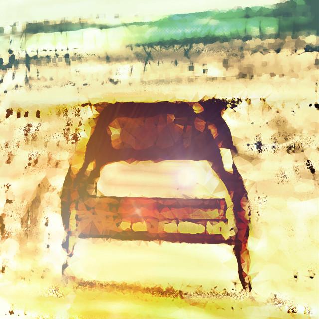 #vacant #chair #beach #art #setting destination #drawing #outdoors stress release