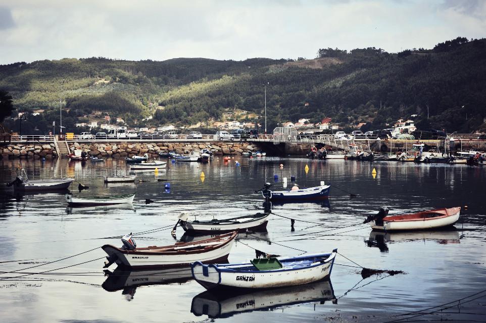 ~Mugardos~, #galicia  #photography #boat #port #reflection #travel #holidays