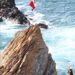 acapulcomexico mar sol olasdelmar banderamexico