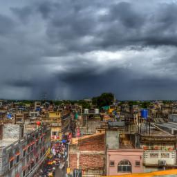 city highlights photography nature rain