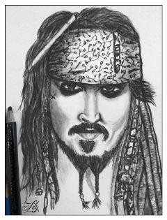 drawing black pencilart
