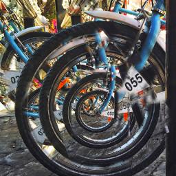 manipulation photography bicycleride wheel