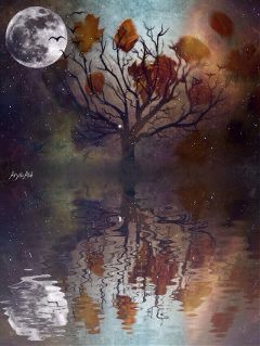 wapautumnvibes wapaddcolor darkart beautifypicsart illustration