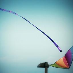 fun sky colorful kite weekend